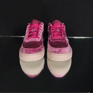 Nike Shoes New Air Force 1 Lv8 Tea Berry Velvet Poshmark